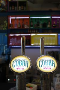 Draft Cobra Beer Indian Lager